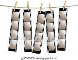 Film Strips Pictures Stock Illustration Old Film Negative Filmstrips Clipart Drawing