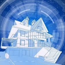 architectural design blueprint. Download Architecture Design: Blueprint 3d House Stock Vector - Illustration Of Composition, Apartment: Architectural Design R