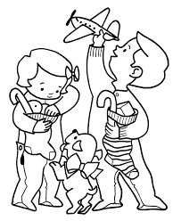 Small Picture Happy Child Colouring Pages Coloring Home