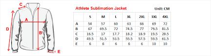 Jacket Length Chart Sizing Guides Esportclothing