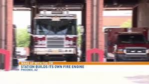 the phoenix fire department got a little creative in their time of need it needed a new engine but the budget said no
