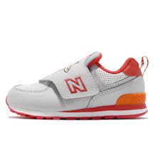 Details About New Balance Iv574zog W Wide Grey Orange Red Td Toddler Infant Shoes Iv574zogw