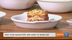olive garden celebrates take your daughters and sons to work day krem com