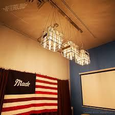 repurposed lighting fixtures. Afterglow Studio Repurposed Lighting Fixtures I