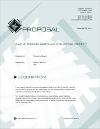 sample business proposal sale of business and assets sample proposal 5 steps