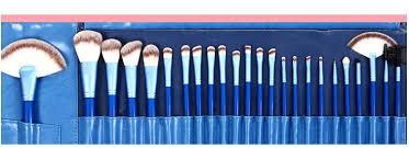 genuine 24 blue super fine persian wool luxury air brush makeup brush set makeup plete aliexpress mobile