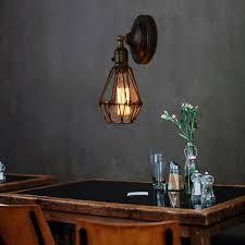 swing arm wall lights kitchen indoor lamp bedroom wall sconce vintage lighting