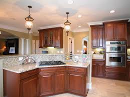 Open Kitchen Island Designs Kitchen Room Led Flood Light Fixtures Kitchen Modern Blackened