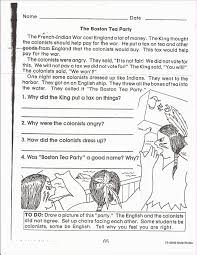 boston tea party worksheet rringband boston tea party worksheets rringband