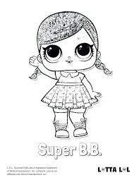 Dolls Coloring Pages Online Printable Girl Doll Coloring Pages