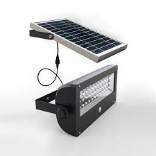 outdoor powerful motion sensor solar led light