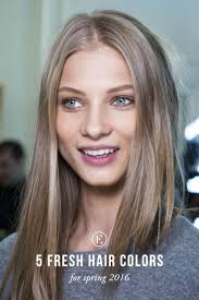 6 Fresh Hair Colors For Spring