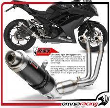 mivv gp steel black full exhaust