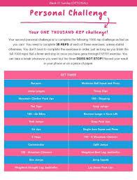 pin kayla itsines workout guide 2 0 pdf 13