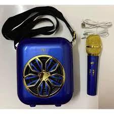 Loa bluetooth xách tay YS A20 kèm micro ko dây âm thanh cực chuẩn sp12