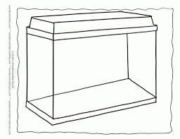 Small Picture Coloring Pages Fish Tank Coloring Page Fish Tank Fish Tank