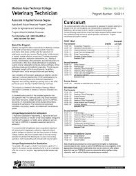 Veterinary Technician Resume Examples Of Resumes Animal Care