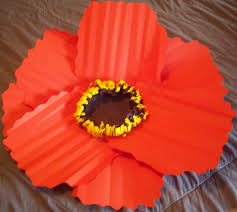 Flower Out Of Paper Diy Paper Poppy Flowers How To Make A Paper Flower Paper Folding