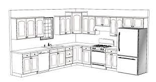 10 12 kitchen floor plans beautiful x