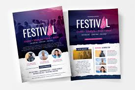 Concert Flyer Templates Free Free Festival Concert Flyer Templates Psd Ai Vector