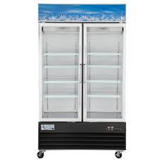 115 volts avantco gdc 40 hc 48 inch black swing glass door merchandiser refrigerator with led