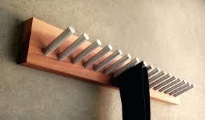tie and belt hanger wooden tie hanger designs