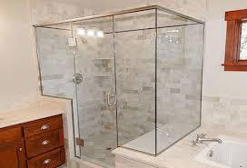 custom glass bathtub enclosures glass shower enclosure installation