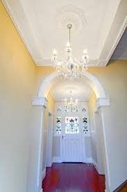 entry hall using as2 plaster strips with ak2 corner strips ar60 ceiling centre custom plaster cornicedecorative