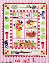 Garden Quilt quilt pattern by Amy Bradley Designs