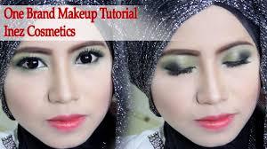 makeup cantik one brand makeup tutorial inez cosmetics