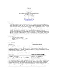 Free Construction Resume Templates Best Of Free Construction Resume Templates At Allbusinesstemplates