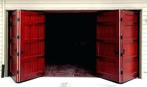 bifold garage door bi fold garage doors large doors exterior warp free wood doors hinged carriage bifold garage door