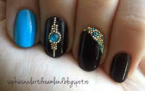 Alphabet nail art challenge - Letter Z for... Zircon!   Sophie's ...
