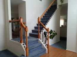 how to replace stair railing. Delighful Stair Throughout How To Replace Stair Railing A