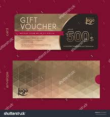 gift voucher template premium patterngift voucher stock vector gift voucher template premium pattern gift voucher certificate coupon design template collection gift