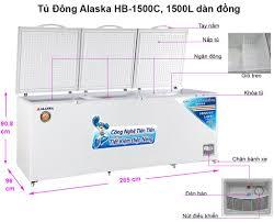 TỦ ĐÔNG 3 CÁNH ALASKA INVERTER A 1288... - Tủ Mát - Tủ Đông - Máy nước uống  nóng lạnh