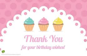 Thank You Note For Money Custom Thank You For Your Birthday Wishes For Being There