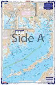 Buzzards Bay And Nantucket Sound Coastal Fishing Chart 61f