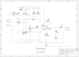 circuit lm386 audio and rf probe amplifier random 2 wire tracer cable route tracer circuit diagram circuit lm386 audio and rf probe amplifier random 2 wire tracer diagram
