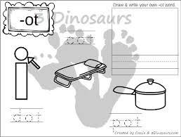 Word Family Coloring Pages New Cvc Word Family Coloring Pages Short O Vowel 3 Dinosaurs