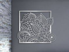 laser cut metal decorative wall art panel sculpture for home office indoor or outdoor use floral  on die cut metal wall art with laser cut metal decorative wall art panel sculpture for home office