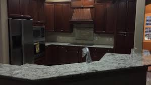 White Spring Granite Kitchen White Springs Granite Countertops Installation Kitchen