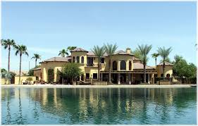 waterfront luxury home in gilbert