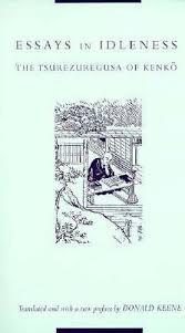 essays in idleness the tsurezuregusa of kenko by yoshida kenko 321596