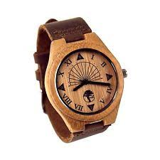 wooden watch new men s wood watches bamboo genuine leather band wooden wristwatch gift box