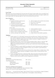Allstate Insurance Adjuster Sample Resume Claims Adjuster Resume Shalomhouseus 6