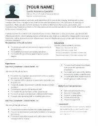 Software Quality Analyst Software Analyst Resume Examples Sample Enchanting Quality Assurance Analyst Resume
