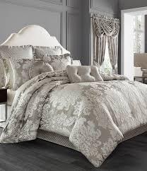 j queen new york chandelier damask comforter set