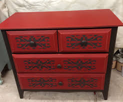 painted red furniture. Painted Red Furniture. Furniture Hand Annie Sloan Chalk Paint Emperors Silk American A