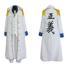 One Piece Admiral Aokiji Kuzan Cosplay Costume Marine Coat 1080187 2021 – $87.99